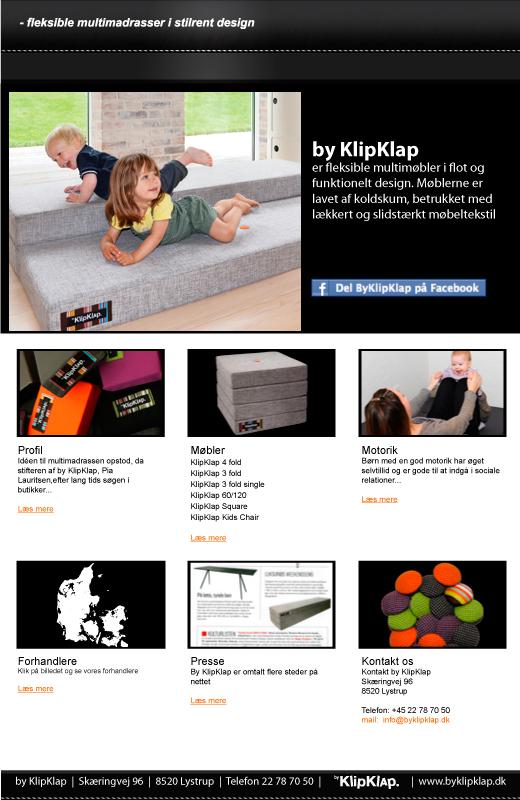 By Klip Klap er de lækreste møbler til børn, men de kan også sagtens bruges af voksne.