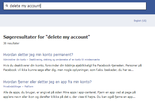 Delete my account on facebook02