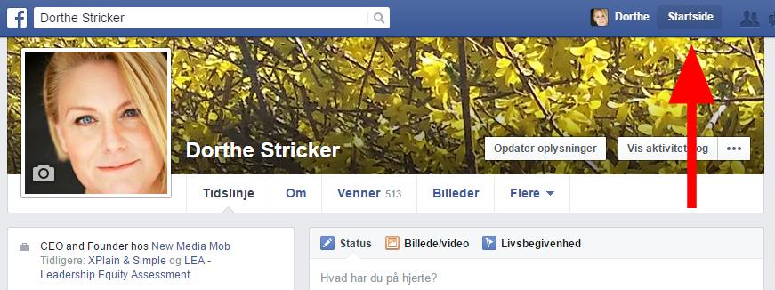 Lav lister på Facebook
