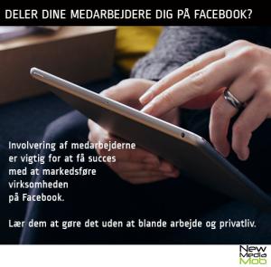 Hjælp dine medarbejdere med at dele til de rigtige på Facebook.